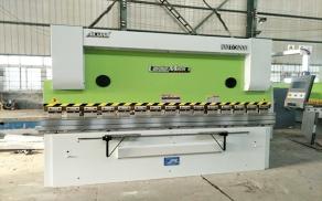 六安WC67K-100T/3200数控液压板料折弯机